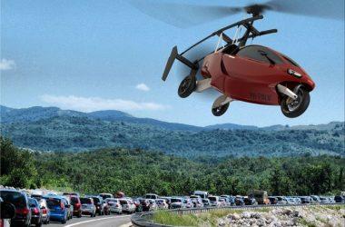 Liberty vliegende auto