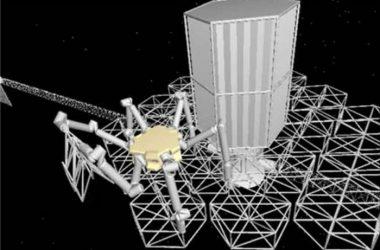 Een robot in de ruimte